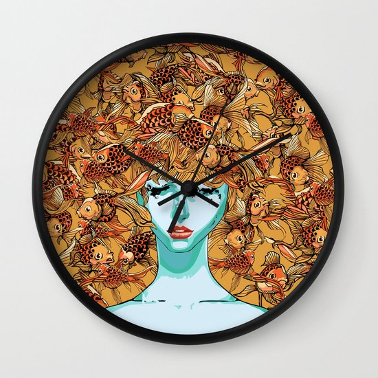 Head up, love Wall Clock