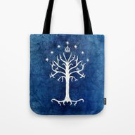The White Tree Tote Bag