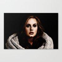 Adele Canvas Print