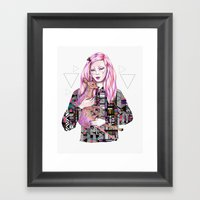 EMBRACE By Kris Tate And… Framed Art Print