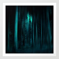 A FOresT Of SecreTs Art Print