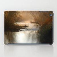 Foggy Alum Creek On A Ch… iPad Case