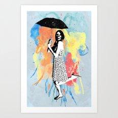 Water Color Art Print