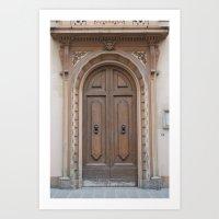 Entrance Art Print
