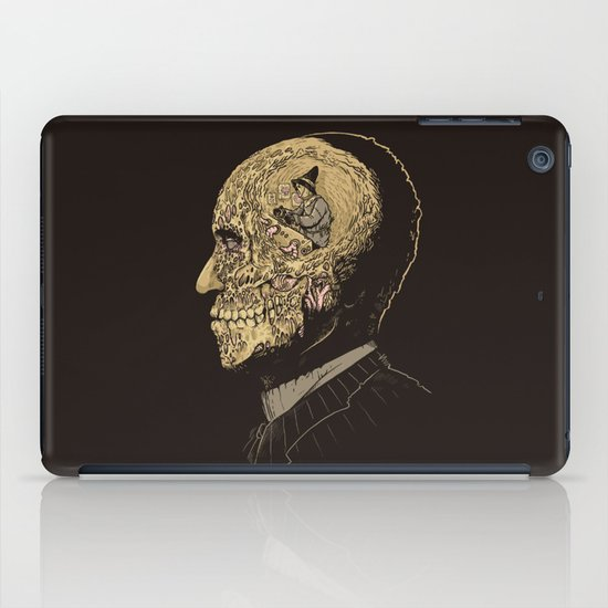 Why zombies want brains iPad Case