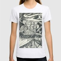 Hope Womens Fitted Tee Ash Grey SMALL