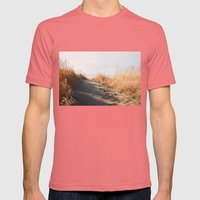 Trail To The Beach Mens Fitted Tee Pomegranate SMALL