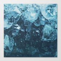 Aquamarine Gem Dreams Canvas Print