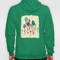 Earth Day Party Balloons Hoody