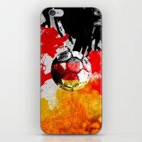 football germany iPhone & iPod Skin