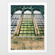 St Dunstan in the East Art Print