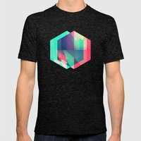 Hyx^gyn Mens Fitted Tee Tri-Black SMALL