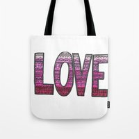 Love Design Tote Bag