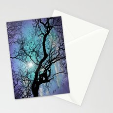 SILENT TREE Stationery Cards
