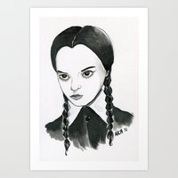 Wednesday Art Print