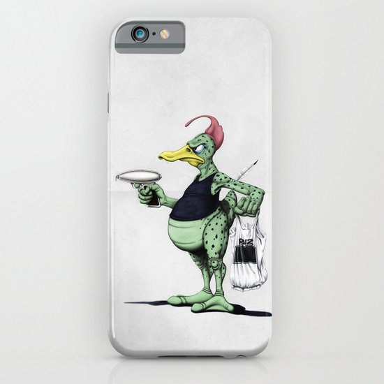 Space Duck iPhone & iPod Case