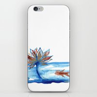 The Lotus and the Goldfish iPhone & iPod Skin