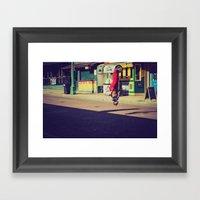 Beale St. Jumper Framed Art Print