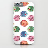 iPhone & iPod Case featuring Butterflyfish by haidishabrina