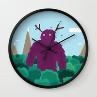 Life Swarms With Innocen… Wall Clock