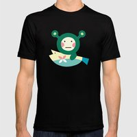 Shrekmon Mens Fitted Tee Black SMALL