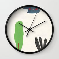 bottom of the jungle Wall Clock