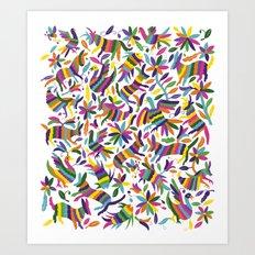 mexicanish Art Print