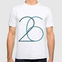 26 Mens Fitted Tee Ash Grey SMALL