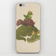 Swamp Squad iPhone & iPod Skin