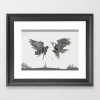 Battle For The Tree Of L… Framed Art Print