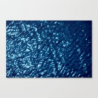 Water Surface Abstract Canvas Print
