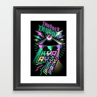 Kyary Pamyu Pamyu - Inva… Framed Art Print