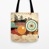 Retro Mash Up. Tote Bag