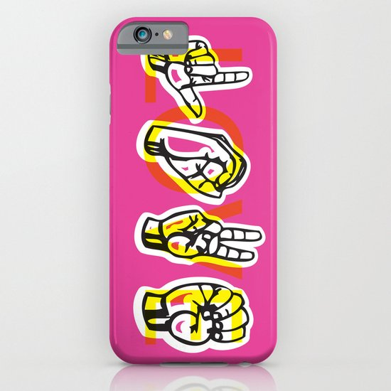 IT'S LOVE iPhone & iPod Case