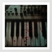 Music.Death.Analog Art Print