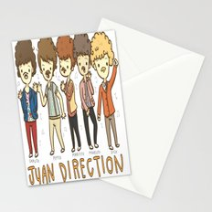 Juan Direction One Direction Cartoon Stationery Cards