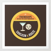 Foundations of Friendship Art Print