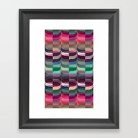 Geometric Abstraction #7 Framed Art Print