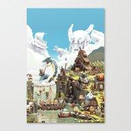 Viking Life Canvas Print