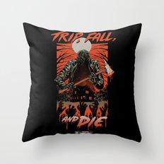 Every Slasher Movie Throw Pillow