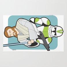 Obi-wan and Clone Trooper Rug
