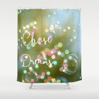 Chase Dreams Shower Curtain