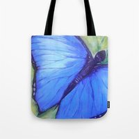 Blue Butterfly: Transfig… Tote Bag