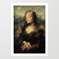 Panelscape Iconic - Mona Lisa Art Print