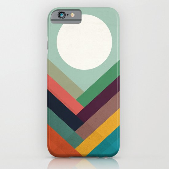 Rows of valleys iPhone & iPod Case