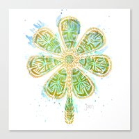 The Motherlucker - Golde… Canvas Print