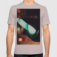Green light Mens Fitted Tee Cinder SMALL