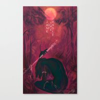 Jane Of The Jungle  Canvas Print