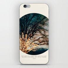 White Lights iPhone & iPod Skin