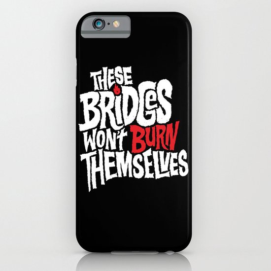 Burning Bridges iPhone & iPod Case